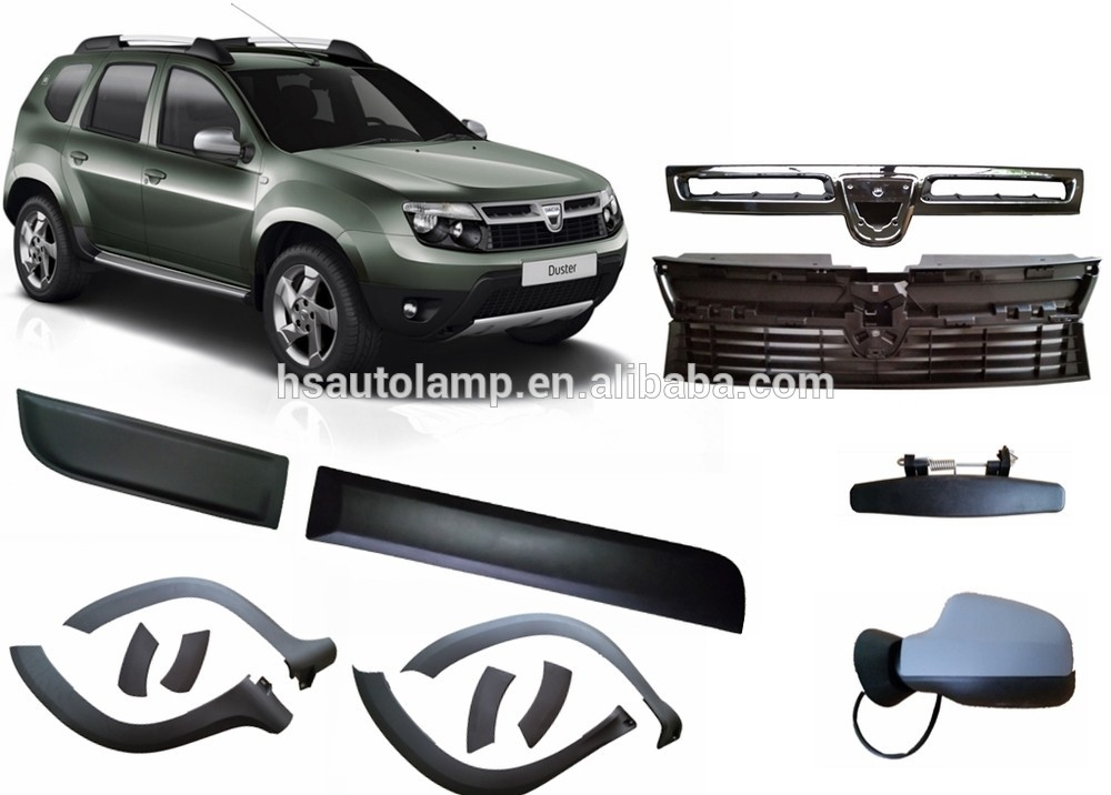 dacia duster auto accessoires wielkasten auto spatborden product id 1198544292. Black Bedroom Furniture Sets. Home Design Ideas
