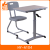 High quality study desk and chair used school furniture for sale HY-104