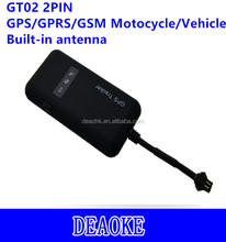smart mini anti-theft online sim card gt02 tk110 motocycle gps tracker