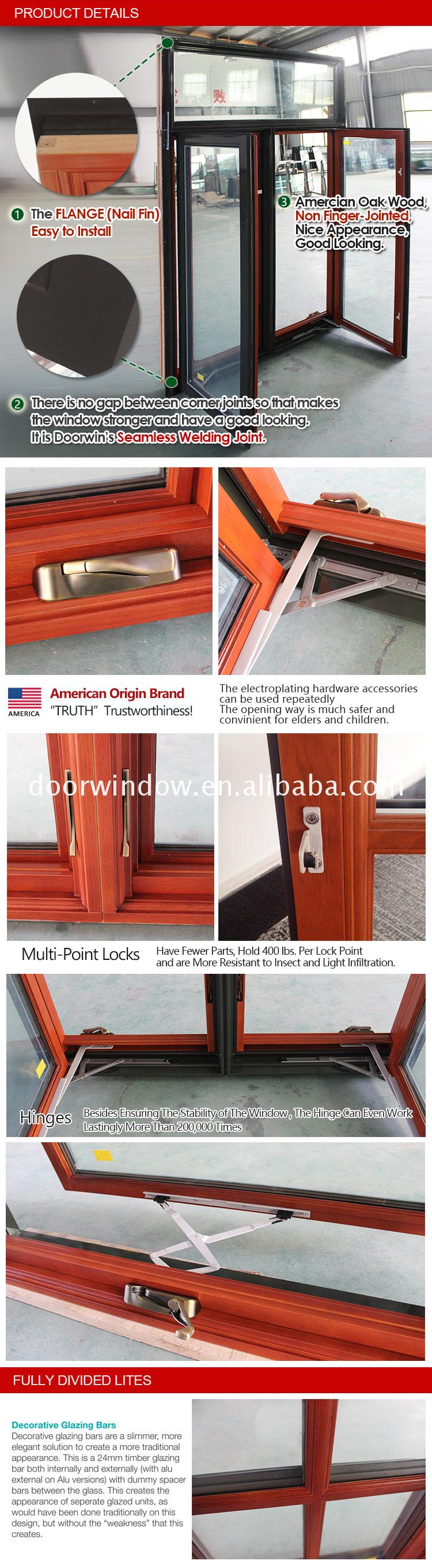 wooden window frame design crank casement windows