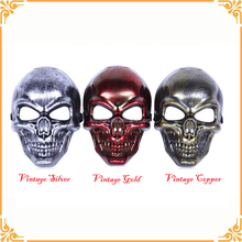 Factory Directly Plastic Halloween Horror Skull Mask For Sale
