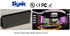 Full color Indoor TV panel P2 P2.5 P3 P4 P5 P6 led video wall display