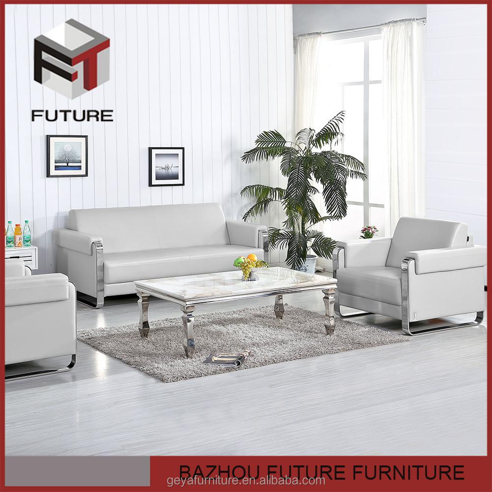 Moderno sof de la oficina conjunto de cuero completo para for Conjunto muebles oficina