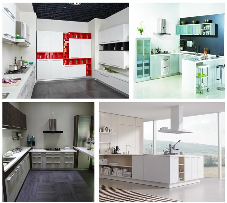 Simple Design Melamine Board Modern Kitchen Cabinets On Sale ...