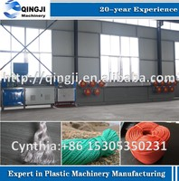Finely processed pp yarn line extruder machine for sale
