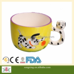 creative Zebra cow tiger animal gifts for kid mug cup