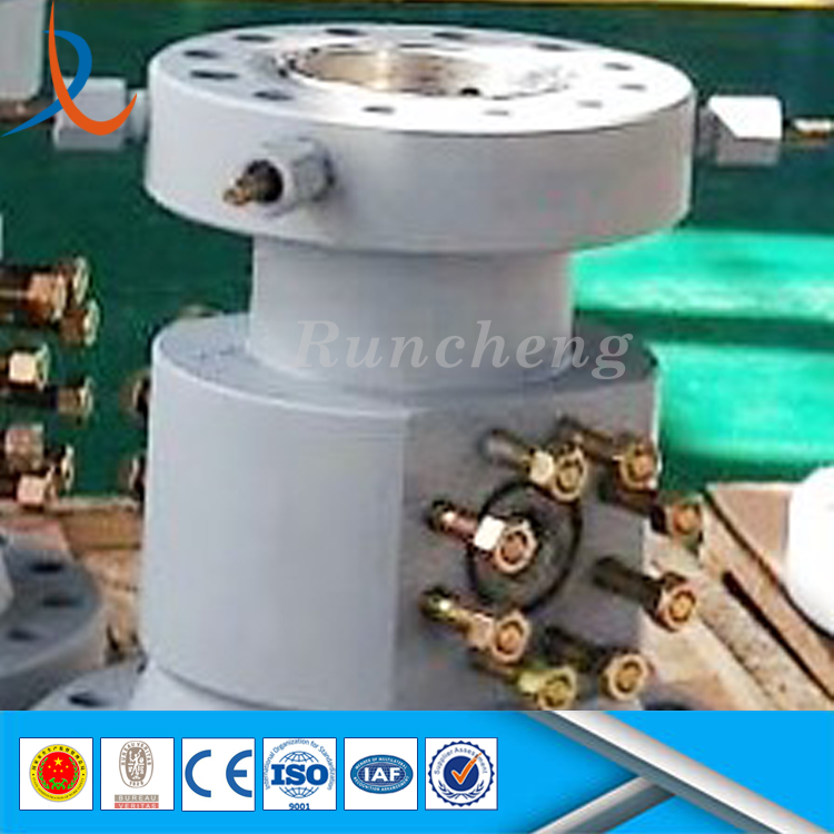 Drilling machine parts of tubing head spool for oil gas field