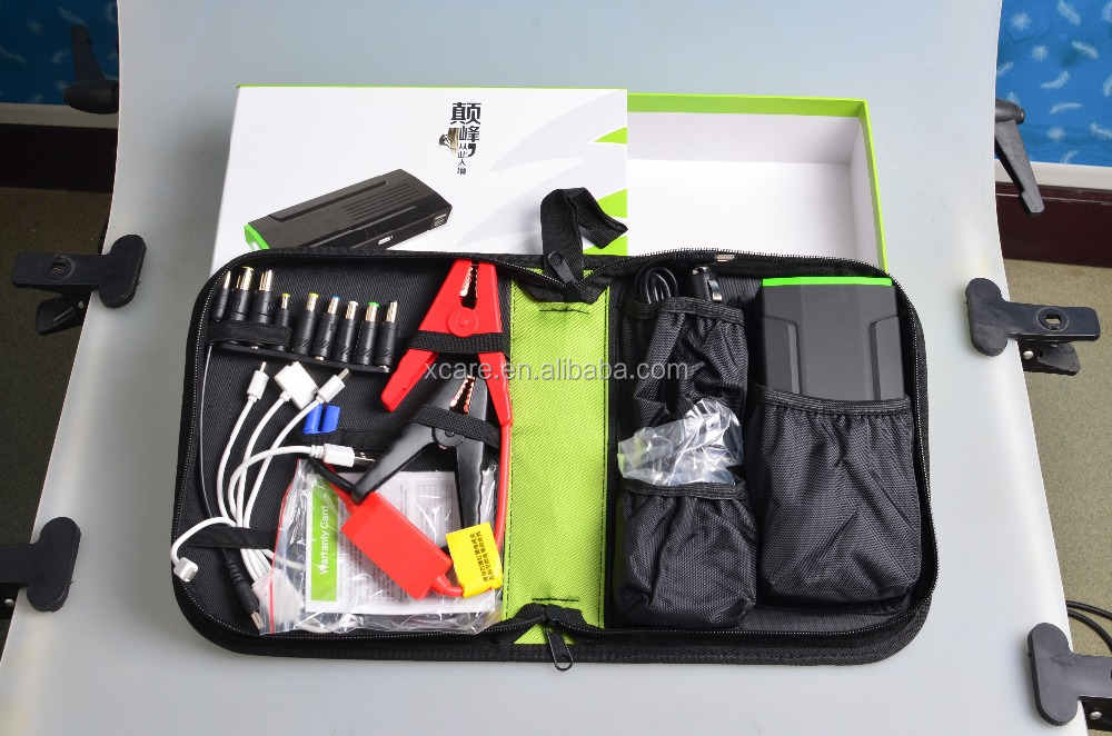 New Jump Starter Power Bank Kit 13600 mAh Power Bank, 4 in 1 USB Interface