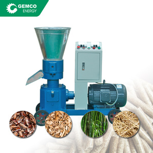 Wholesale price mini homemade pellet mill plan for making pellets from biomass wood sawdust leaves hay straw grass