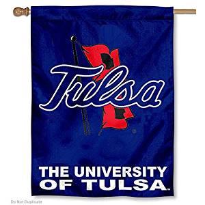 University of Tulsa TU Hurricanes House Flag