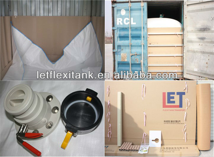 ISO,FGA,SGS flexitank for vegetable oil/olive oil/used cooking oil packaging