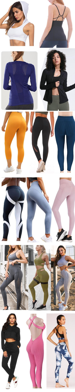 Etiqueta Privada Supplex damas Vital culturismo deporte deportiva sin costuras medias de Yoga Leggings de Deporte Fitness Mujer pantalones de Yoga