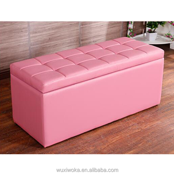 Home Furniture Colorful Storage Fancy Kid Ottoman - Buy Colorful ...