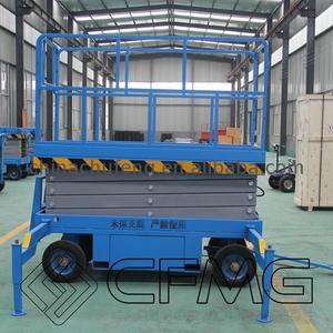 Factory sale electric mobile scissor lift work platform hydraulic tables genie lifts