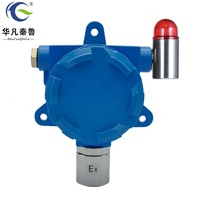 Industrial fixed lpg combustible gas detector CH4 C2H4 ethane gas leak detector