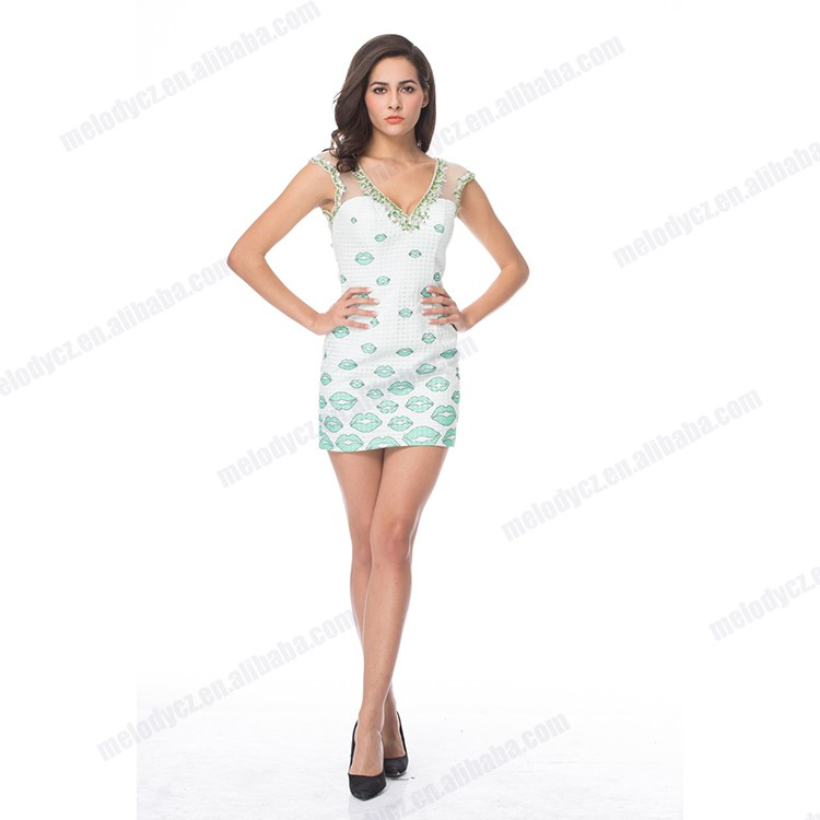 V-neck Sexy Hot Sale Short Dress For Yang Ladies - Buy Short Dress ... bb33d7c8a