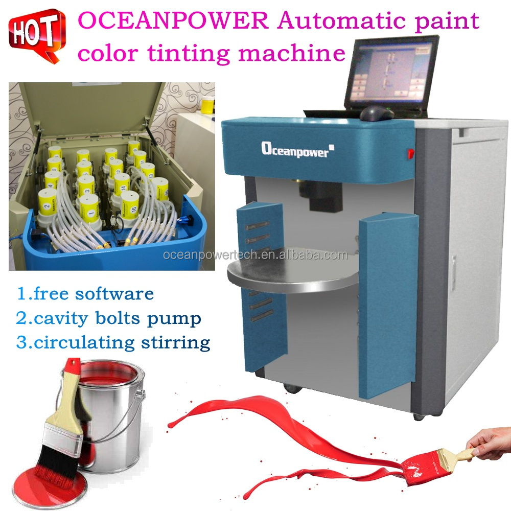 Add in paint colorant tint 15 doubts about add in paint for Paint tinting machine