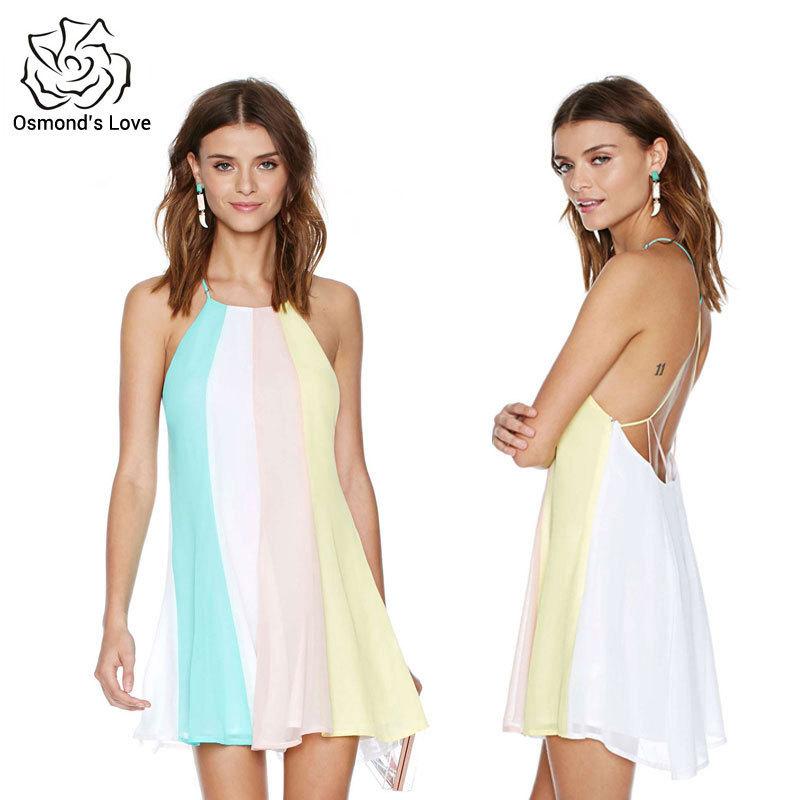 97cded26907 Get Quotations · 2015 Women Dress XXL Sexy Plus Size Fashion Vestido De  Festa Sleeveless Short Summer Chiffon Dress