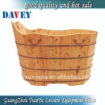 Legno vasche da bagno vasca idromassaggio barile buy bagno barile bagno in legno a botte sauna - Tinozza da bagno ...