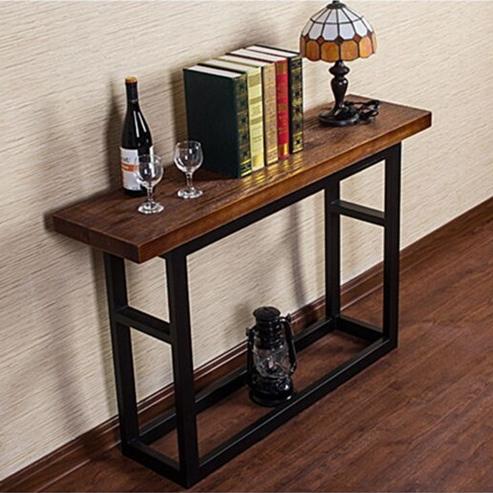 nordic ikea poste d 39 entr e faire le vieux r tro texte table de console de bois bureau curio. Black Bedroom Furniture Sets. Home Design Ideas