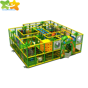 Indoor Soft play children naughty castle for home