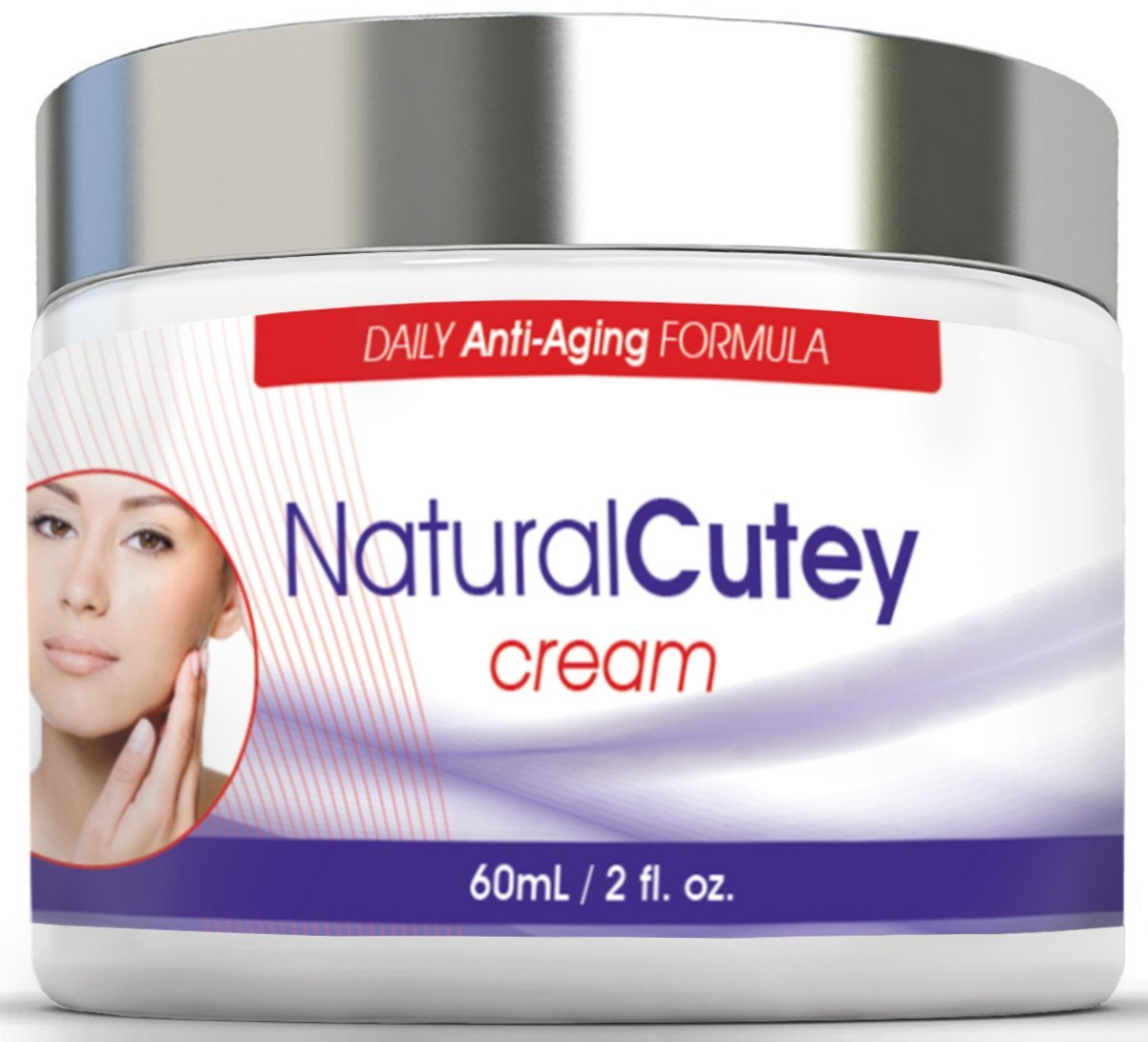 Natural Cutey is The Best All-In-One Night & Day Anti Aging Cream Moisturizer for Women and Men- All Natural & Organic Face and Eye Cream- Reduces Fine Lines & Deep Wrinkles, Promotes Cell Regeneration with 100% Satisfaction GUARANTEED...