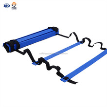 double and single adjustable football soccer training speed agility ladder