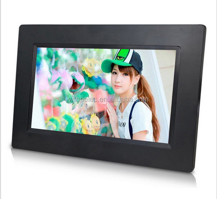 basic function 7 inches digital photo frame slide show, calendar, clock