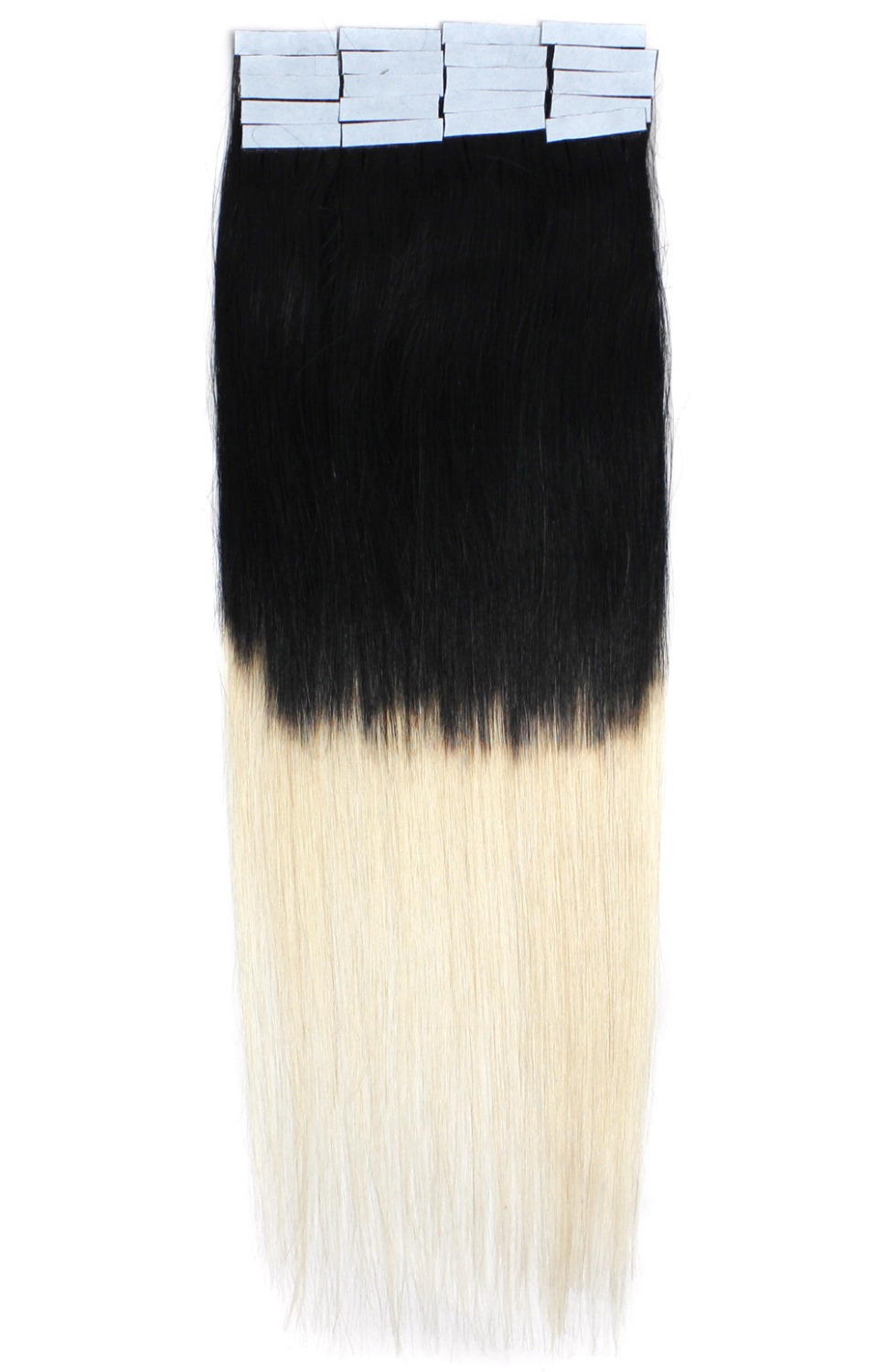 18inch 45cm Ombre T tones Tape in human Hair Extension 20pcs/set 40gram T 01/613 omber hair