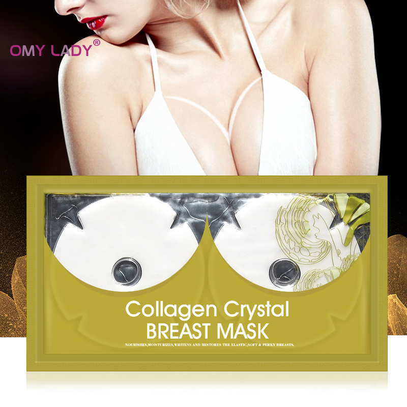 Korean Skin Care Health Breast Patch Crystal Hydrogel Breast Mask Chest/Nipple Sheet Mask