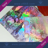 High complicated holographic label printing service