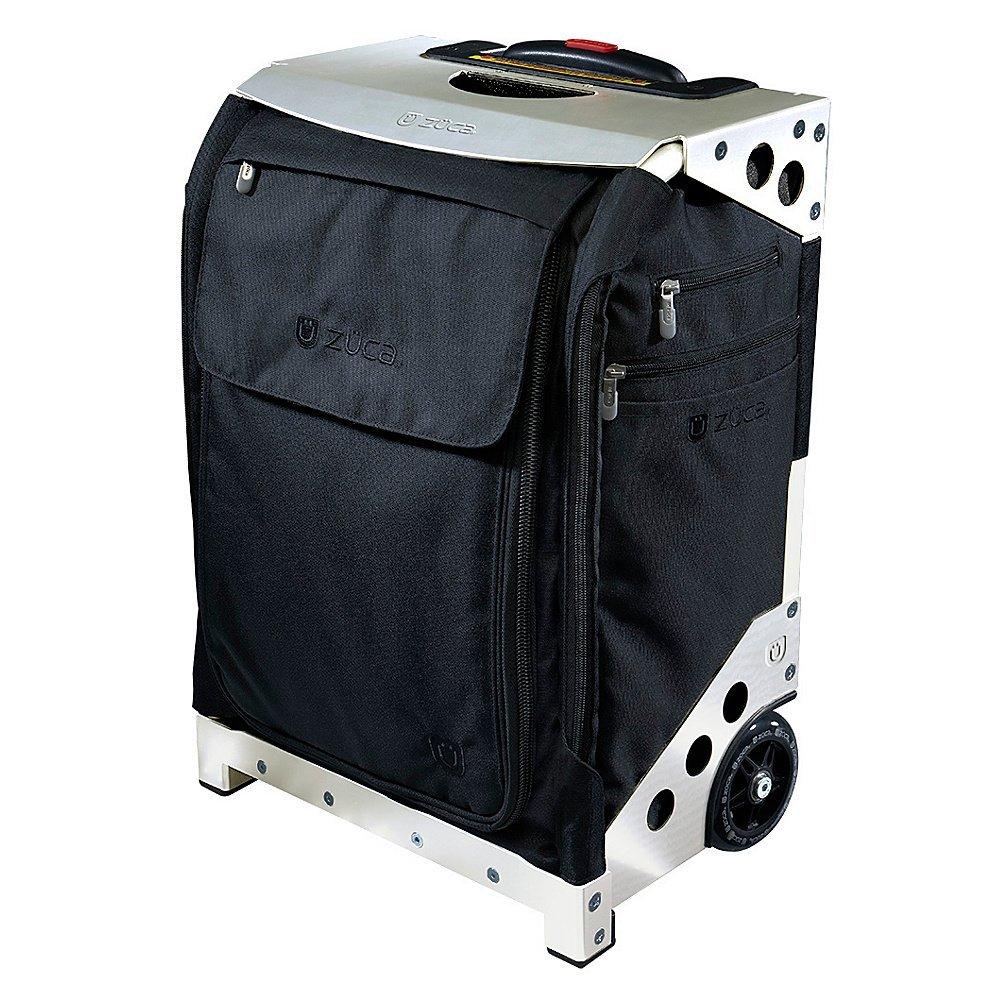 Zuca Flyer Travel Case, Black w Silver Frame