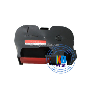 Franking Machine Ink Cartridge Ribbon Fluorescent Red Pitney Bowes B767  B700 Postage Meter B767 Red Ribbon Cartridge - Buy B767 Postage Meter  Postal