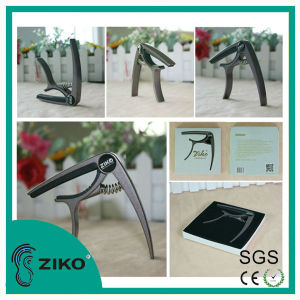 fashional package high quality metal guitar capo for eleca electric guitar