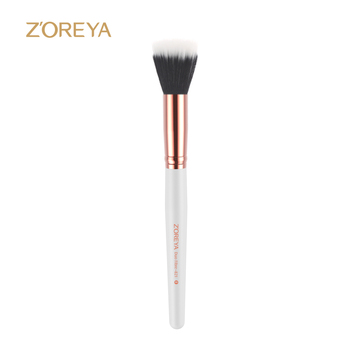 2018 beauty care makeup tool wholesale unique personal makeup brush top quality duo fiber blush make up brushes