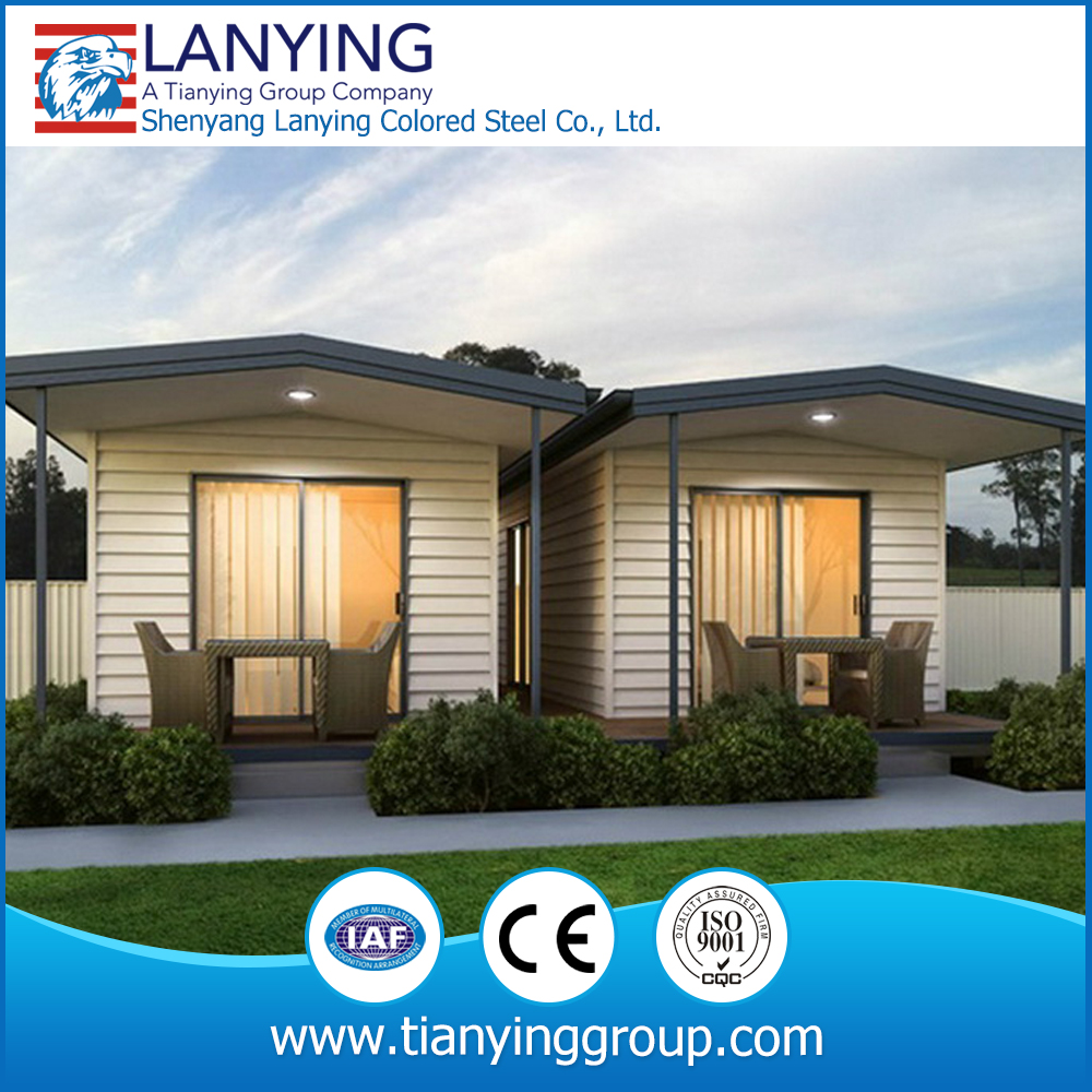 luxury bed prefabricated portable prefab house for sale