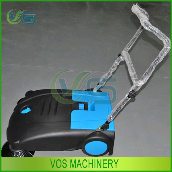 Hand Push Manual floor sweeper for street,road, park