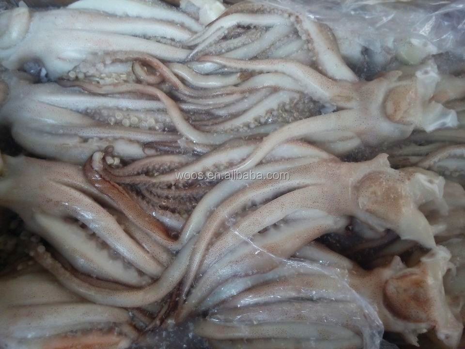wholesale seafood frozen squid head and tentacles