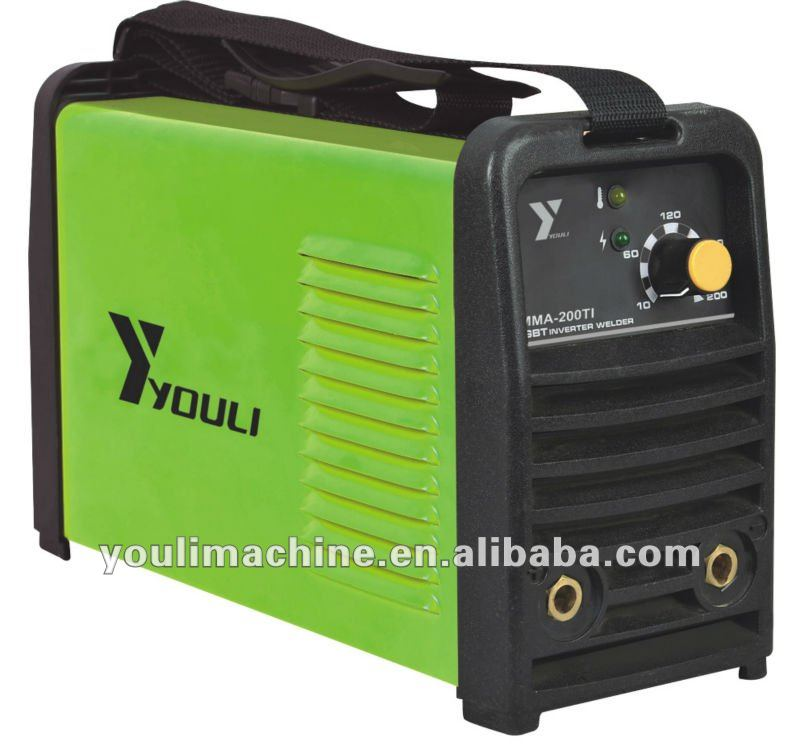 Inverter igbt portable welding machine