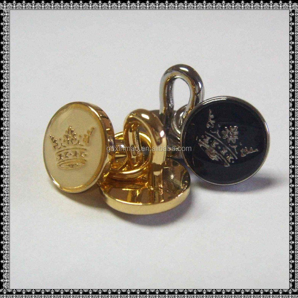various types of fashion classic metal buttons for garments