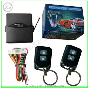 Dls Keyless Entry System Universal Car Kit Remote Control Central