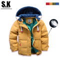 Brand Sunshine Kid 2016 Children Outerwear Coats Girls Boys Warm Winter Down Coat Jacket Hooded Outwear