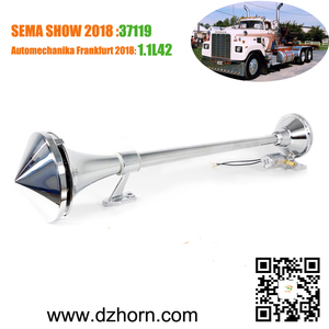 DZ HORN 26''/29'' 12V/24V electric air horn with front cover for Truck Lorry Volvo Scania MAN Renault DAF