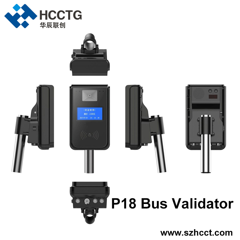 13.56MHz NFC Card Reading Linux Bill Ticket BUS Validator HT80-A2