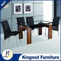 Dining room furniture natural oak dining table and chair set