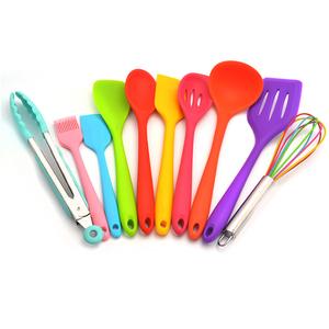 Kitchen Tools & Gadgets Utensils Wholesale Kitchen Accessories Set Stainless Steel Silicone Kitchen Utensil Set - 10 Pack