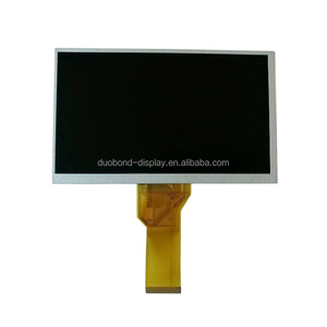 High Brightness 24 bit RGB Interface Lcd Screen 16:9 7 tft lcd 800x480 with Rohs Compliant