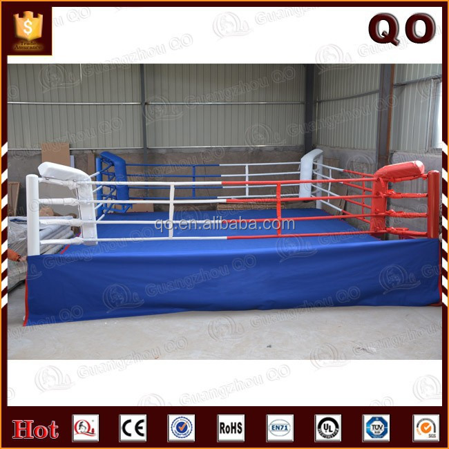 2015 Top quality shock resistant corner pad used boxing ring for sale