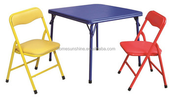 Kids Used Folding Table And Chairs,Kids Table Set   Buy Kids Folding Table  And Chair,Folding Study Table And Chair,Portable Folding Table And Chair ...