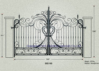 house gate designs pictures, rolling gate, auto gate